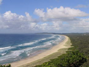 Tallow Beach am Cape Byron