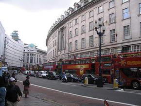 Regent Street am Piccadilly Circus
