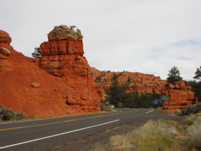 UT-89 beim Red Canyon